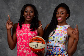 Basketball star sisters launch fundraising contest to help girls in Nigeria