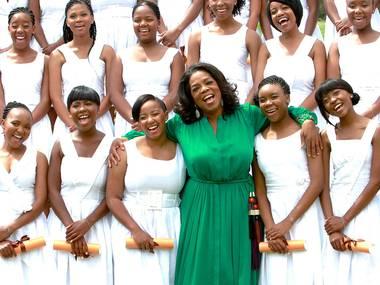 Oprah Winfrey and Starbucks team up to help girls' school in South Africa