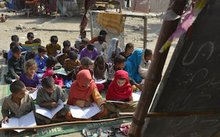 Half of Pakistan's children - 24m of them - are still out of school