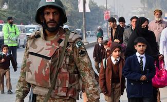 More than 130 children massacred in Taliban attack on Pakistani school