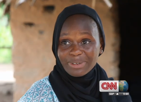 Gambian girl campaigns against child marriage after refusing to leave school