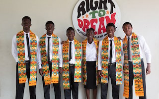 Football and education are the goals at Ghana's Right to Dream Academy