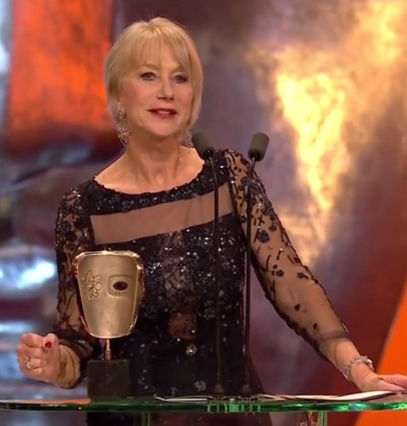 'My journey began with a great teacher' says BAFTA winner Dame Helen Mirren