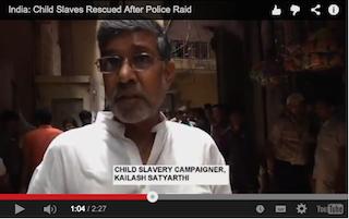 On video: Courage of Nobel Peace Prize winners Malala Yousafzai and Kailash Satyarthi