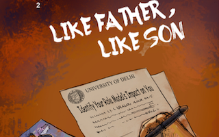 My father, my role model: comic series features Global Youth Ambassador from India