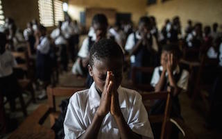 Ebola two years on: how deadly virus stopped millions from going to school