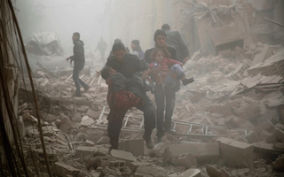 Children killed as missiles hit school in Syria