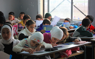 $250m funding boost for plan to get one million Syrian refugee children into school