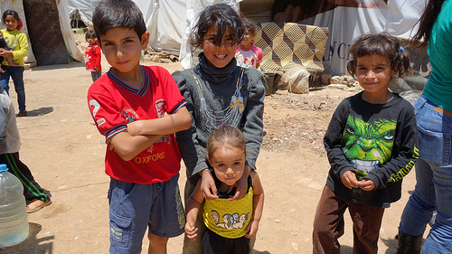 UK government asked to back school plan for Syrian refugees in Lebanon