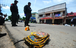 Bomb planted at school in Thailand kills young girl and her father