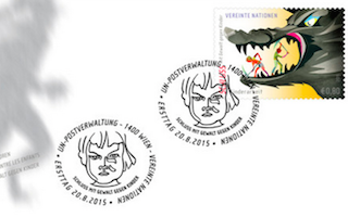 UN stamps highlight violence against children