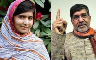 Malala Yousafzai and Kailash Satyarthi win Nobel Peace Prize for children's rights campaigning