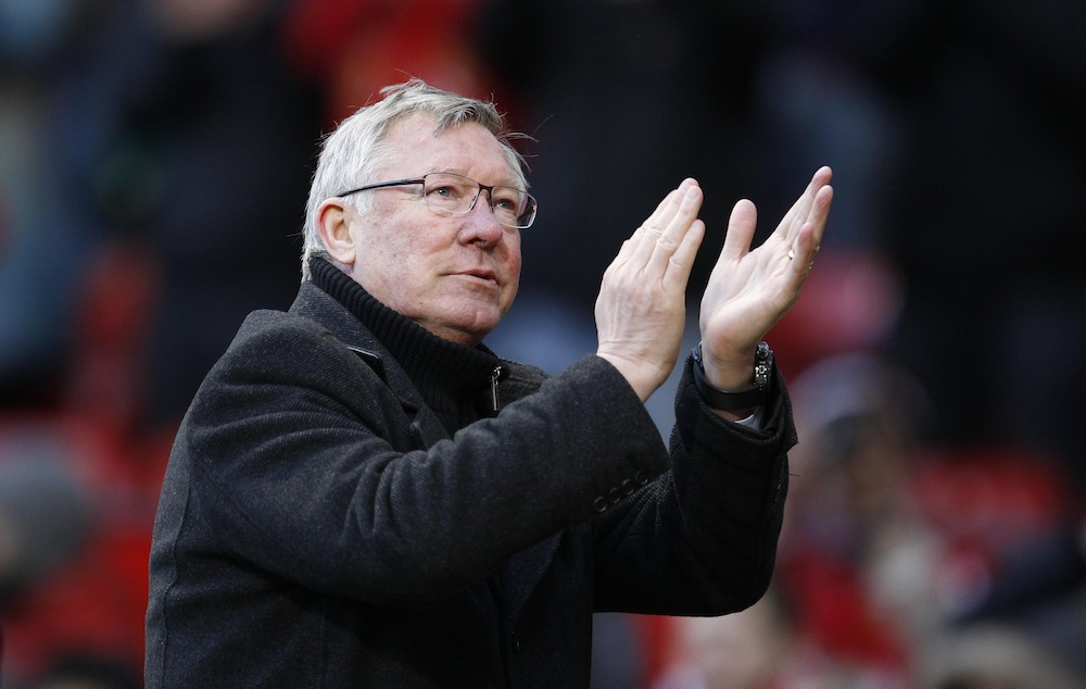 Sir Alex Ferguson: Primary school teacher was an inspiration to me